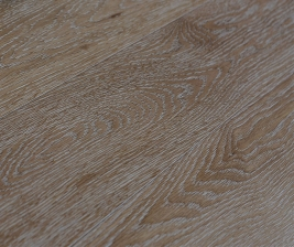 Oak natural-white grain brushed